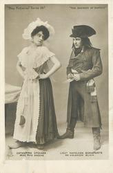 CATHERINE UPSCHER, MISS EVIE GREENE, LIEUT. NAPOLEON BONAPARTE, MR. HOLBROOKE BLINN