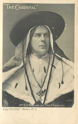 MR. E. S. WILLARD AS THE CARDINAL