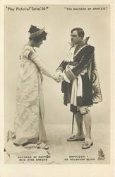 DUCHESS OF DANTZIG, MISS EVIE GREENE, NAPOLEON I, MR. HOLBROOKE BLINN