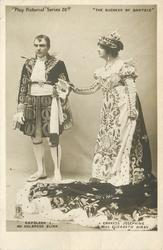 NAPOLEON I, MR. HOLBROOK BLINN, EMPRESS JOSEPHINE, MISS ELIZABETH KIRBY