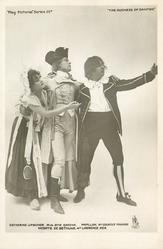CATHERINE UPSCHER, MISS EVIE GREENE, PAPILLON, MR. COURTICE POUNDS... REA
