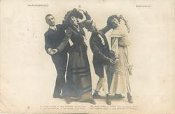 """MR. HENRY LYTTON, AS DICK WARGRAVE( THE REAL HEIR), MISS AGNES FRASER AS """"ELPHIN HAYE (AN AMERICAN HEIRESS) SWEETHEART"""