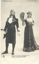 GEOFFREY CHALLONER - MR. HAYDEN COFFIN  MARJORY JOY - MISS OLIVE MORRELL. GEOFFREY MEETS MARJORY AT THE BALL