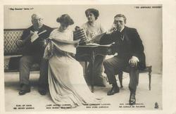 EARL OF LOAM, MR. HENRY KEMBLE,  LADY AGATHA LAZENBY. MISS MURIEL BEAUMONT. HONERNEST WOLLEY. MR. GERALD DU MAURIER