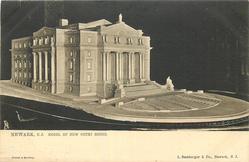 MODEL OF NEW COURT HOUSE
