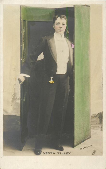 VESTA TILLEY  cross-dressed