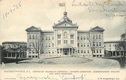 CENTENARY COLLEGIATE INSTITUTE - WOMEN'S DORMITORY, ADMINISTRATION BUILDING AND MEN'S DORMITORY
