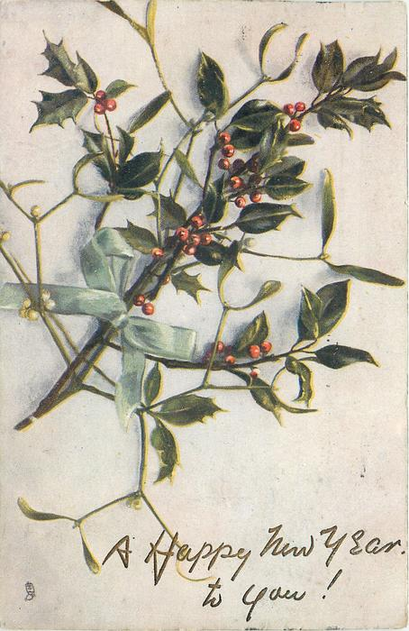 holly & mistletoe