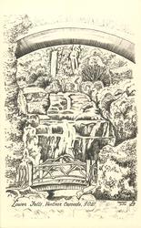 LOWER FALLS, VENTNOR CASCADE, I.O.W.