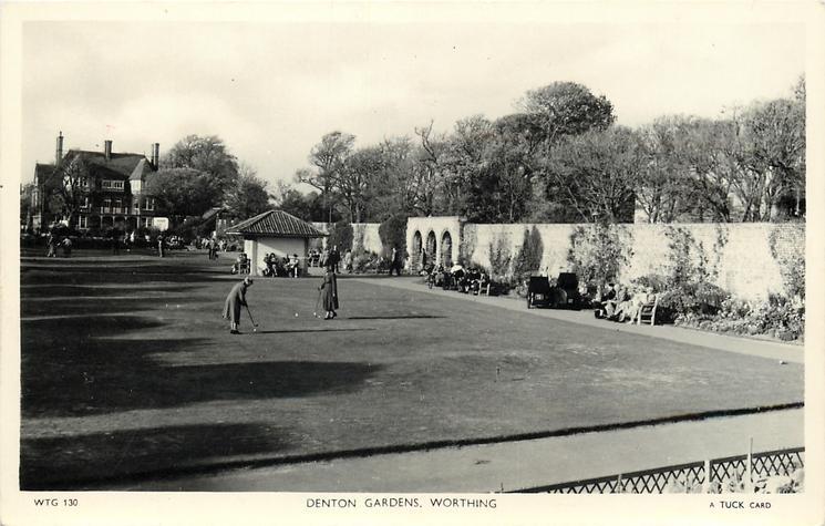 DENTON GARDENS golf