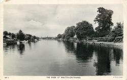 THE RIVER AT WALTON-ON-THAMES