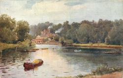 THE THAMES AT RICHMOND (back title)