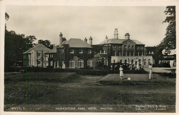 HAWKESTONE PARK HOTEL  golf