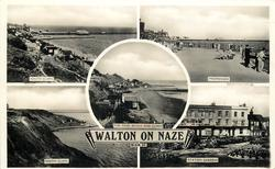 5 insets SOUTH CLIFFS/PROMENADE/THE NAZE BEACH AND CLIFFS/SOUTH CLIFFS/STATION GARDENS