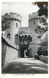 THE NORMAN GATE, WINDSOR CASTLE