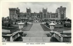 EAST TERRACE, WINDSOR CASTLE