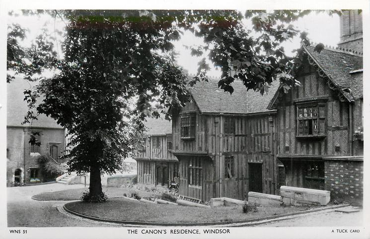 THE CANON'S RESIDENCE