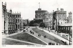 LOWER WARD, WINDSOR CASTLE