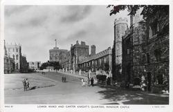 LOWER WARD AND GARTER KNIGHT'S QUARTERS, WINDSOR CASTLE