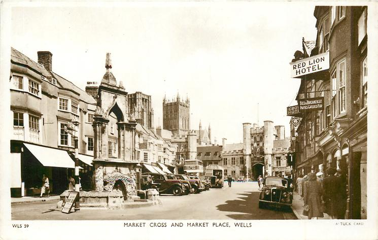 MARKET CROSS AND MARKET PLACE
