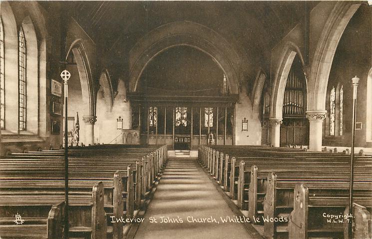 INTERIOR ST. JOHN'S CHURCH