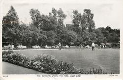 THE BOWLING GREEN, THE PARK