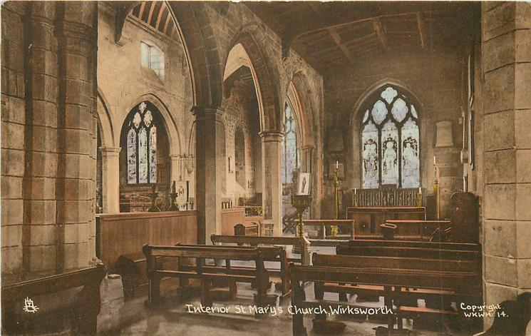 INTERIOR ST. MARY'S CHURCH