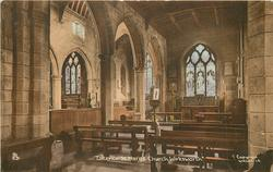 INTERIOR ST. MARY'S CHURCH