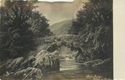 LLEDR BRIDGE, BETTWS-Y-COED