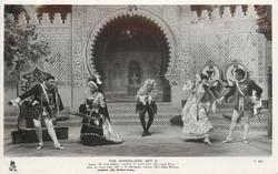 ACT II., MARCO (MR. PACIE RIPPLE), DUCHESS OF PLAZA-TORO (MISS LOUIE RENE), DUKE OF PLAZA-TORO (MR. C.H. WORKMAN), CASILDA (MISS MARIE WILSON), GIUSEPPE (MR. RICHARD GREEN)