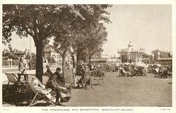 THE PROMENADE AND BANDSTAND