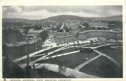GENERAL VIEW SHOWING CRESCENT