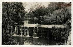 WATERFALL, RIVER CALE