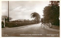 SANDHILLS LANE