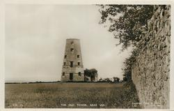 THE OLD TOWER, NEAR USK