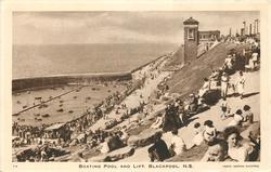 BOATING POOL AND LIFT, BLACKPOOL, N.S.