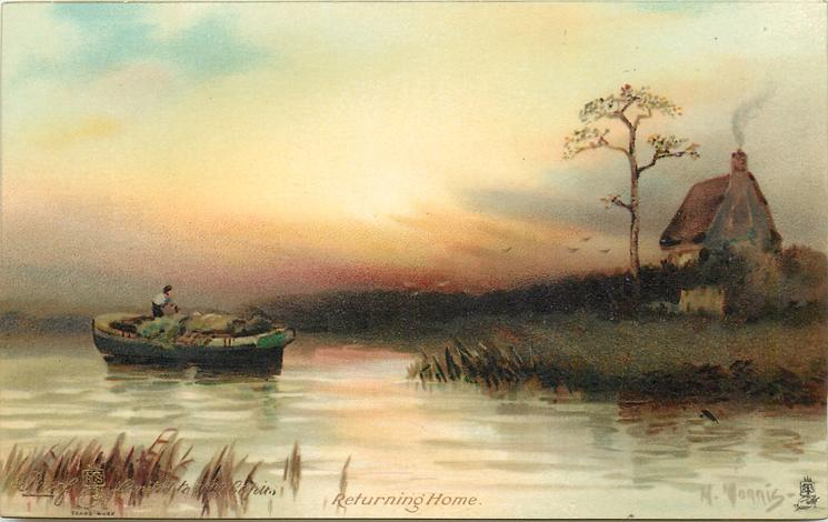 RETURNING HOME or A GLEAM OF DAY YET LINGERING IN THE WEST by SAMUEL ROGERS