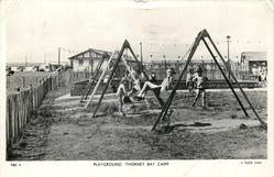 PLAYGROUND. THORNEY BAY CAMP