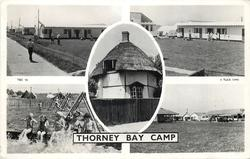 THORNEY BAY CAMP  five untitled insets