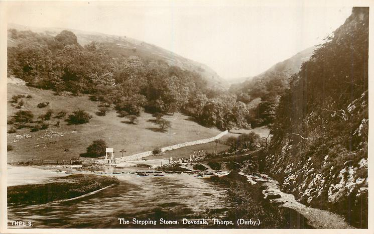 THE STEPPING STONES, DOVEDALE