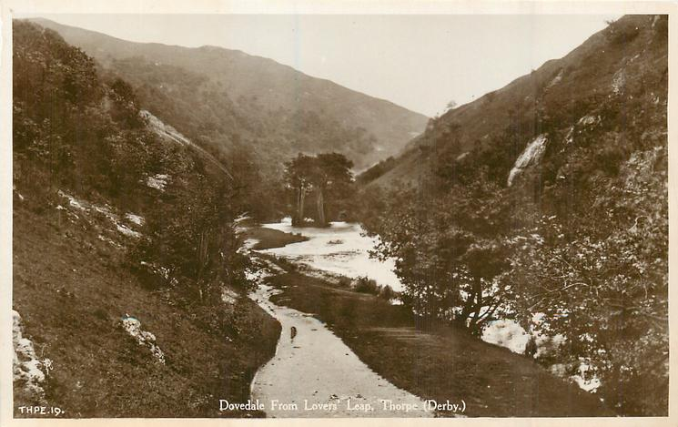 DOVEDALE FROM LOVERS LEAP
