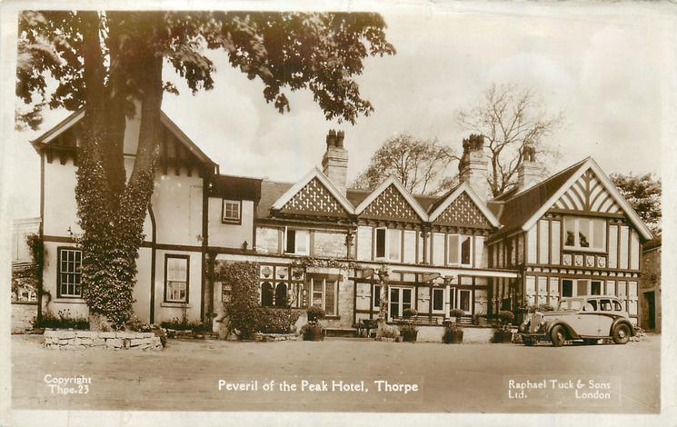 PEVERIL OF THE PEAK HOTEL  front VIEW