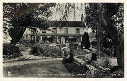 PEVERIL OF THE PEAK HOTEL  back view & garden
