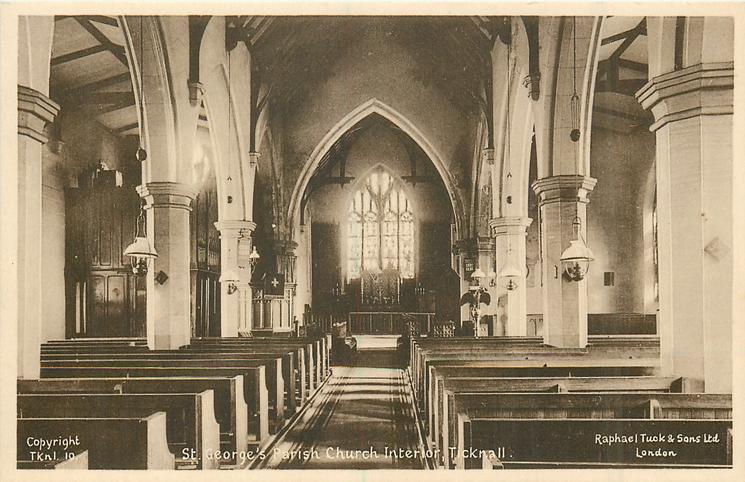 ST. GEORGE'S PARISH CHURCH INTERIOR