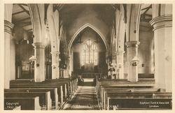 ST. GEORGE'S PARISH CHURCH INTERIOR