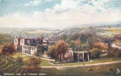 GENERAL VIEW OF FURNESS ABBEY