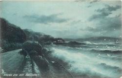 ROUGH SEA OFF ABERDOVEY
