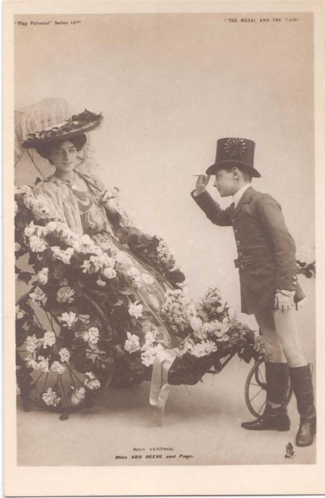 Vintage Post Card Miss Ada Reeve