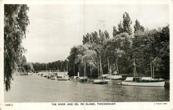 THE RIVER AND EEL PIE ISLAND