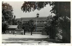 VIEW OF UPPER SCHOOL